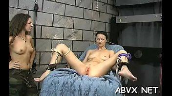 Free video of cock bondage Tractable teen in fine scenes of bizarre bondage