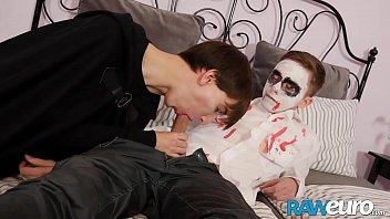 RAWEURO Halloween Special With Teen Dracula and Cock Joker