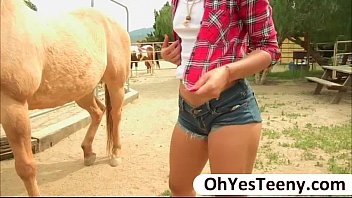 Have a huge cum - Teen cowgirl gabriella ford rides a massive dick and receives cum