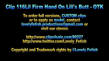 Clip 116Lil Firm Hand On Lilis Butt - Full Version Sale: $8 thumbnail