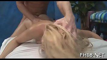 Gir gets an wazoo massage then fucks her therapist