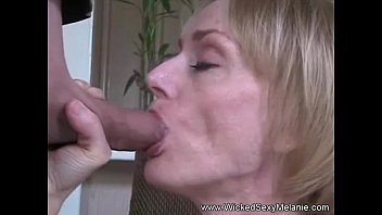 Great blowjob and cum - Gilf says i love cock