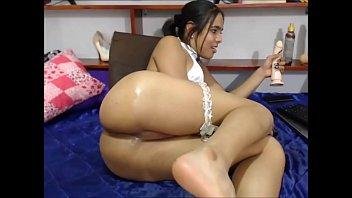 She-Male Dildos her ass DEEP