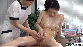 JAV CFNF Lesbian Massage Clinic Masturbation Help Subtitled