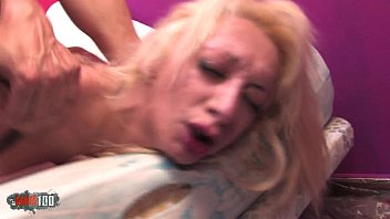Fucking really hard this nasty hot blonde arab slut