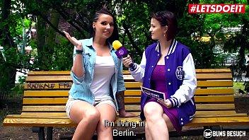 LETSDOEIT - Busty German Camgirl Makes One Lucky Fan Happy (Jolee Love) Vorschaubild