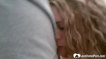 Sexy blonde likes the taste of his cum