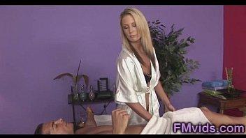 Kiara Diane sexy blonde masseuse