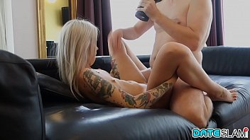 Date Slam - Sexy young Blonde babe gets fucked on first date porno izle