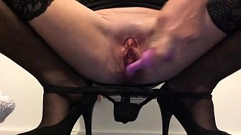 My panties are round my ankles then I squirt all over them
