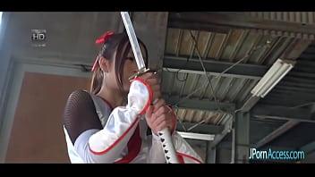 Japanese Ninja Pussy Gang Bang