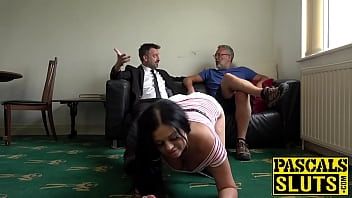 Voluptuous Catalia Valetine eats lush load after drilling