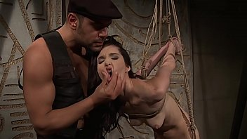 Moscow bondage - She borns to be submissive.bdsm bondage sex movie.