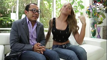 Teen mexican nude girls Mexican nerd fucks a girl from his office