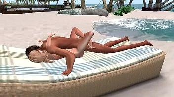 Beach Blanket Blonde Barbie Doll