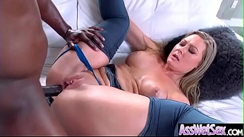(Addison Lee) Superb Oiled Girl With Big Ass Get Anal Nailed clip-01