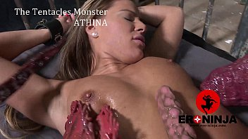 Lee handjob ninja The tentacles monster athana