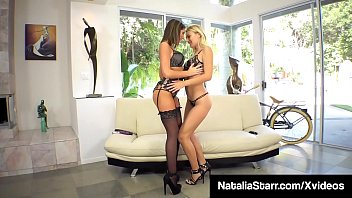 Pussy Pleasuring Natalia Starr & August Ames Cum Together!