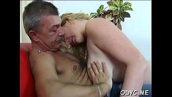 Free grandpa oral sex videos Smoking hot curvy teen gives grandpa a hot oral-sex and rides