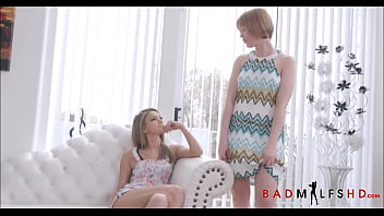 Cute Tiny Teen Step Daughter Athena Faris Fucked With Strap Ons By Two Hot MILF Lesbians Marie Mccray And Natasha Starr Threesome