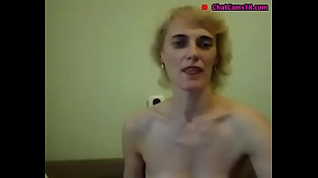 russian slim mature with small saggy tits