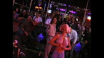 Vintage stage coach clock - Julie rage blonde slut fucking on stage