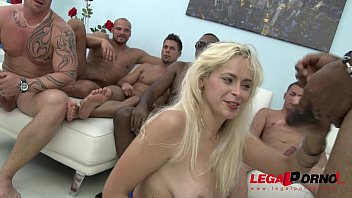 Anal milf gangbang Vittoria dolce savage gangbang, she cant hold back her screams