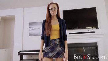 Nerdy School Girl Fucks Her Brother- Vanna Bardot