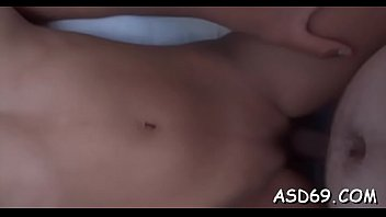 Asian riding tube - Lusty asian sex doll gives a 10-pounder ride and a perfect handjob