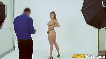 Big Tits HOTTIE Fucking Her Casting Agent - Josephine Jackson