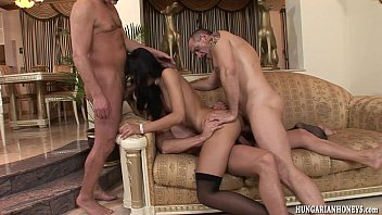 Suzi quatro in nude Euro babe ass fucked by 3 guys in gangbang