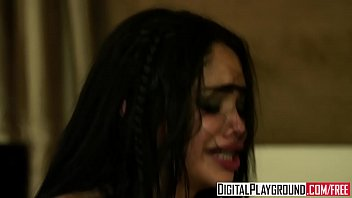 Ebony teen stripper (Selena Rose) likes it rough - Digital Playground