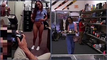 And nice ass pics Xxxpawn - desperate latin nurse visits pawn shop for fast cash