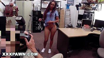 XXXPAWN - Desperate Latin Nurse Visits Pawn Shop For Fast Cash