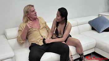 Pervy Uncle And Aunt Teach Tiny Asian Teen A Lesson