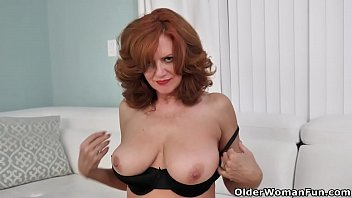 Andy comic strip - American milf andi james fingers her fuckable pussy