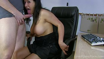 Exotic Amateur Babe Working Hard In The Office thumbnail