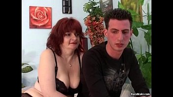 Mature redheads pussy Redhead granny does anal