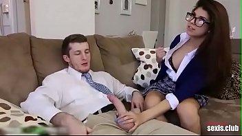 SCHOOLGIRL FUCKING WITH HER TEACHER | Ava Taylor Full Video!