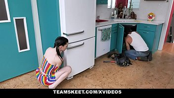 ExxxtraSmall - Tiny Teen Gets Piped By The Plumber