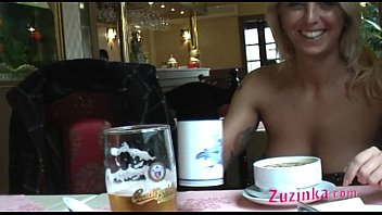 Amateur exhibitionist gallery Natural exhibitionist in chinese restaurant