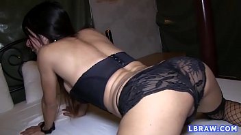 Slutty thai shemales - Ladyboy creamy gets barebacked