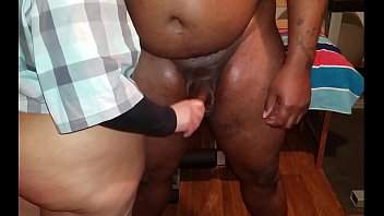 My boss could't keep his dick in my ass, his cum was dripping in me and it was hot.                  heavyxxxdick