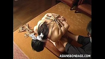 Tie my shoe asian Craving japanese girl gets tied up and gagged