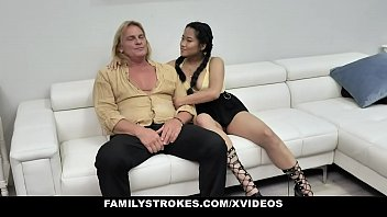 Step Uncle and Step Aunt (Katie Morgan) Fuck Their Naughty Niece (Alona Bloom) to Teach Her Some Manners