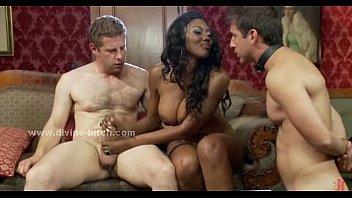 Black mistress teaches femdom sex