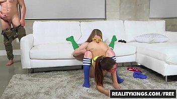 RealityKings - Teens Love Huge Cocks - (Lexxxus Adams) - Nerdy Gamer Hotties thumbnail