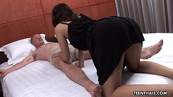 Cumming on her belly with so much passion
