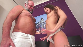 Older men naked photos Young anita bellini on older dick