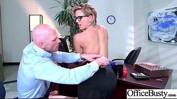 Superb Office Girl (Cherie Deville) With Big Boobs Enjoy Intercorse movie-27